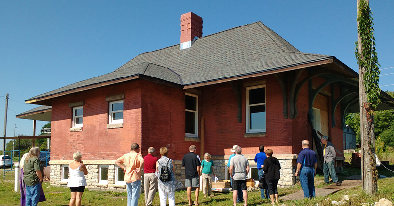 tour of the 188 depot