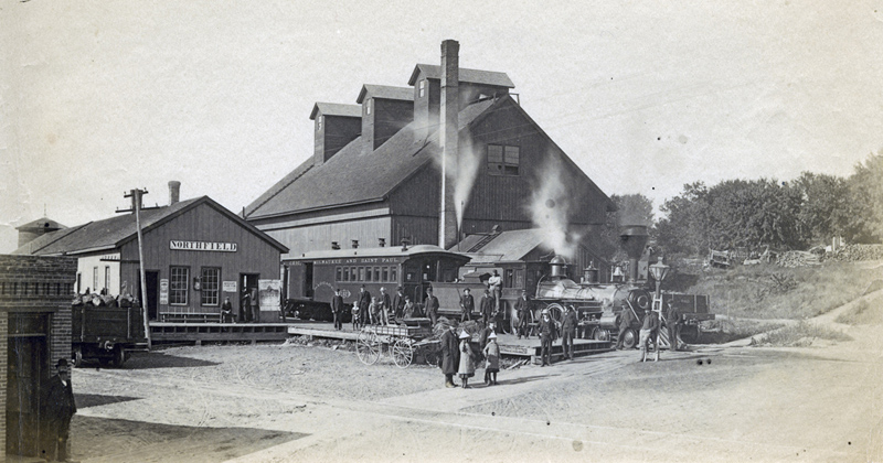 Northfield's 2nd depot (Milwaukee)