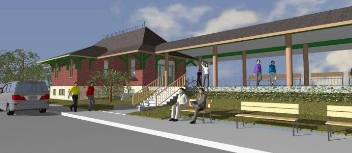 depot rendering