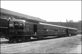 Gas-electric Minneapolis, Northfield & Southern car