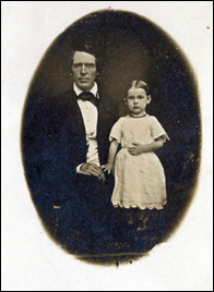 John W. North and daughter Emma