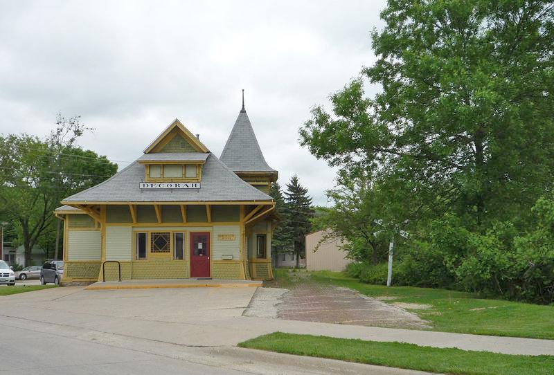 Milwaukee Depot in Decorah, Iowa.