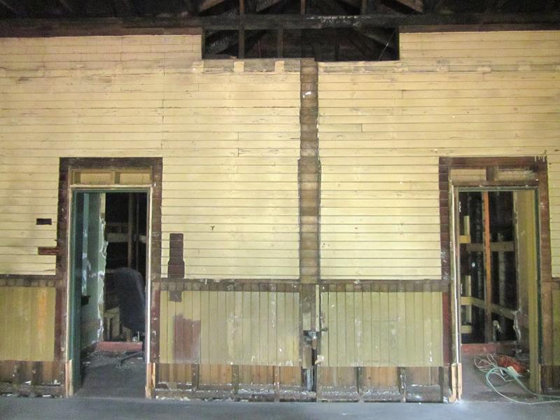 depot's original walls