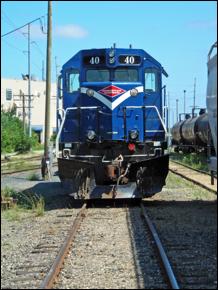 Progressive Rail's No. 40, General Motors-EMD, Model SD-39