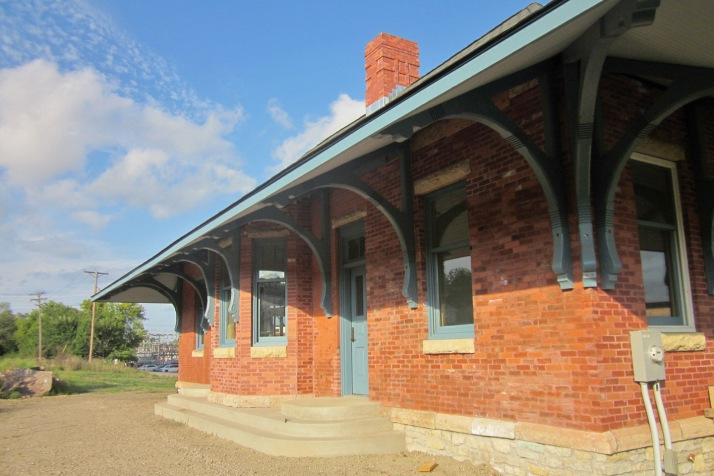 1888 Milwaukee Road Depot