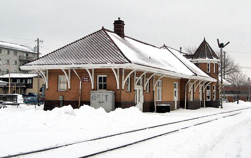 Chicago, Rock Island & St. Paul Station in Iowa City